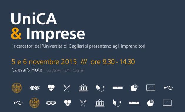 L'Università di Cagliari si presenta alle Imprese – 5 e 6 novembre Caesar's Hotel