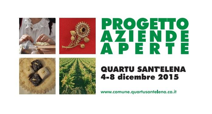 """Confartigianato per """"Aziende Aperte"""" a Quartu Sant'Elena dal 4 all'8 dicembre"""