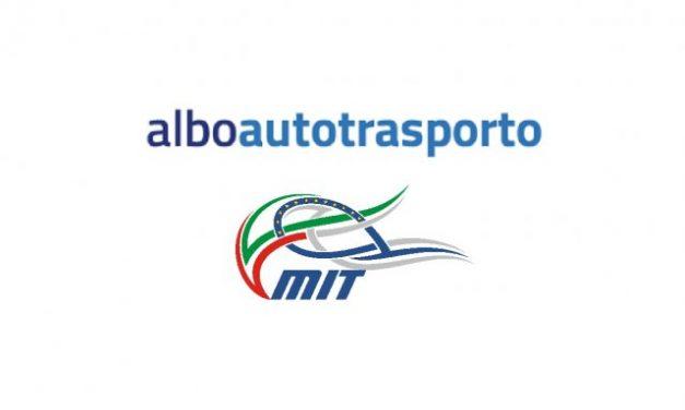 AUTOTRASPORTO–Albo Autotrasporto: termine pagamento prorogato a fine febbraio.