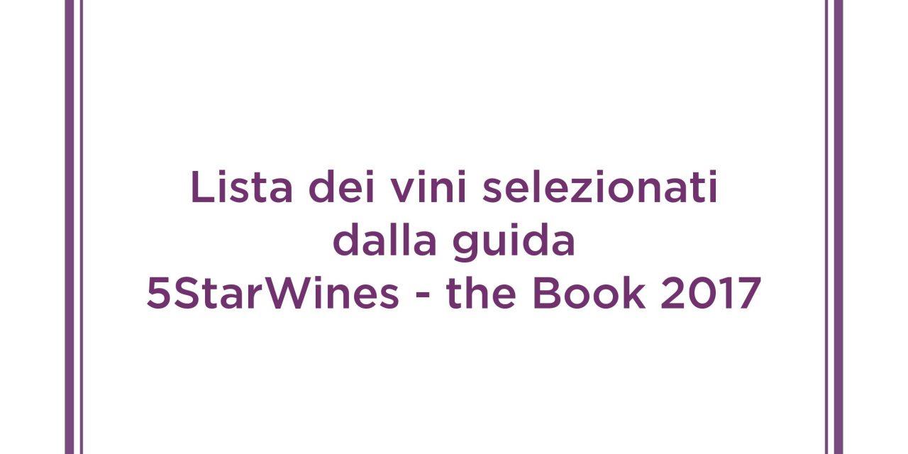 """VINITALY-3 vini di StoreSardinia tra i migliori d'Italia. Inseriti nella prestigiosa guida """"5 Stars Wines THE BOOK 2017″"""