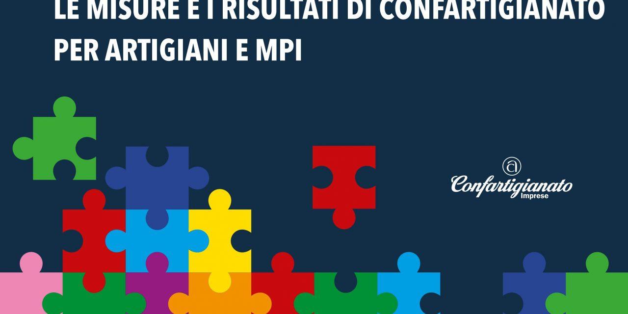 LEGGE DI BILANCIO 2018: LE MISURE E I RISULTATI DI CONFARTIGIANATO PER ARTIGIANI E MPI