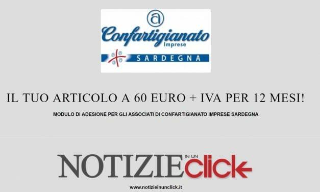 CONVENZIONE CONFARTIGIANATO SARDEGNA-NOTIZIEINUNCLICK