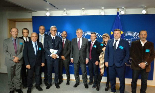 EUROPA E PMI SARDEGNA – A Bruxelles, Confartigianato Sardegna a confronto con il Presidente del Parlamento UE Antonio Tajani