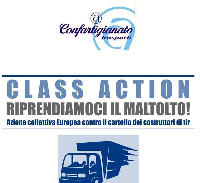 """TRASPORTO MERCI – Al via le richieste di risarcimento per gli autotrasportatori. Da Confartigianato Trasporti una class action contro il """"cartello dei Tir""""."""