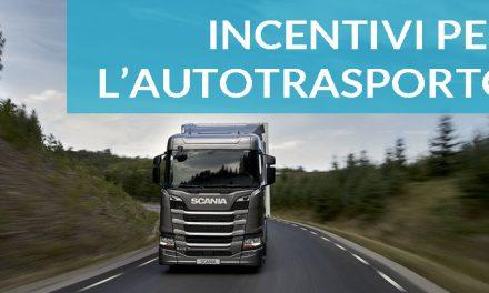 AUTOTRASPORTO – 25milioni di euro per ammodernare le aziende dell'autotrasporto.