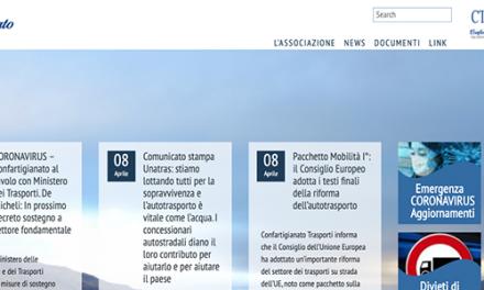 """CORONAVIRUS/TRASPORTO MERCI – Informazioni, disposizioni, norme, decreti, autorizzazioni e interpretazioni. Da Confartigianato Trasporti un """"box"""" per tenere aggiornate le imprese dell'autotrasporto. Mellino (Confartigianato Trasporti Sardegna): """"Uno strumento per stare vicino e fornire assistenza alle 1600 aziende artigiane del settore""""."""