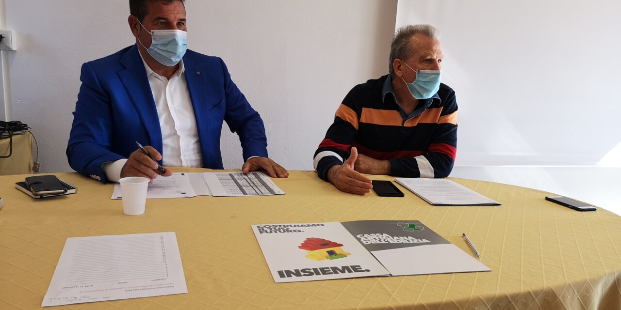 EDILIZIA – Giacomo Meloni riconfermato Presidente della CAES, Cassa Artigiana dell'Edilizia della Sardegna. L'ente bilaterale, costituito tra Confartigianato e le tre sigle sindacali, tutela 2mila imprese e 7mila lavoratori in tutta l'Isola.