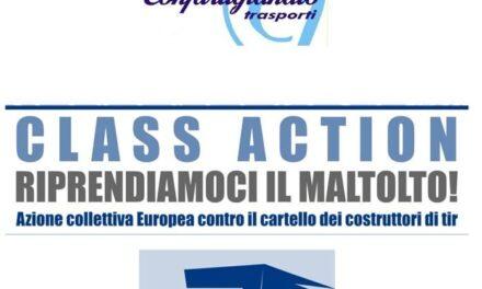 """AUTOTRASPORTO MERCI – Gli autotrasportatori sardi contro il """"cartello dei Tir"""". Una class action promossa da Confartigianato per risarcire le imprese di Trasporto merci danneggiate. Mellino (Confartigianato Trasporti Sardegna): """"Azione collettiva risarcitoria protetta e senza rischi per le aziende interessate""""."""